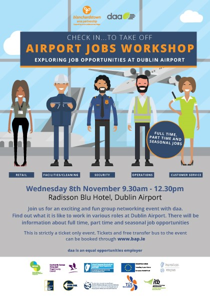 Airport Jobs Workshop | Ballymun Job Centre